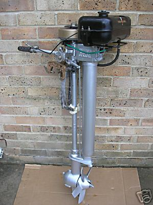 British Seagull Outboard Motors Outboards Silver Century